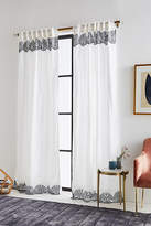 Anthropologie Embroidered Lola Curtain