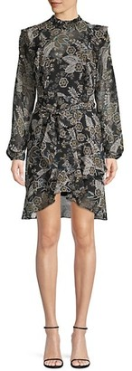 Bailey 44 Botanical-Print Mini Dress