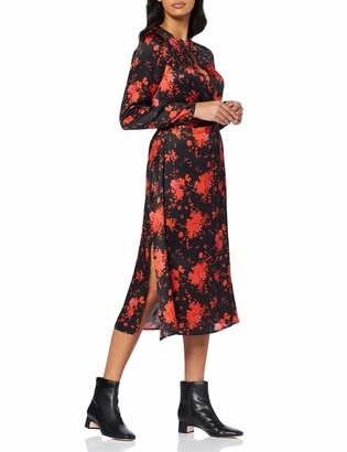 Find. Amazon Brand Women's Midi Floral A-Line Dress