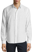 Theory Rammy Linen Sport Shirt