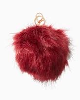 Charming charlie Fuzzy Pom Keychain