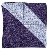 hook + ALBERT Men's Geometric Silk Pocket Square