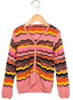Missoni Girls' Striped Wool Cardigan