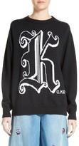 Christopher Kane Women's Jacquard Wool Sweater