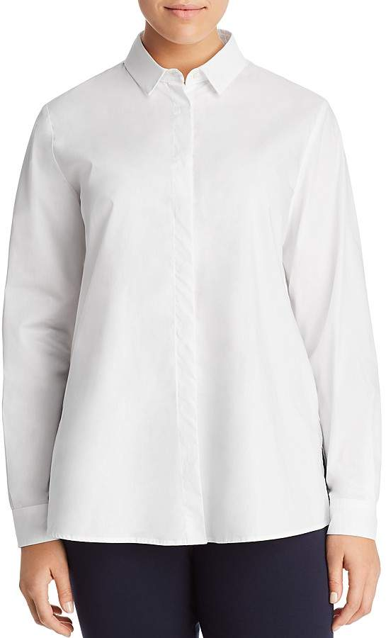 Marina Rinaldi Beleno Button-Down Shirt