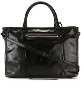 Rebecca Minkoff front zip tote - women - Leather - One Size