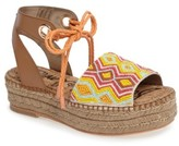 Sam Edelman Women's Neera Espadrille Platform Sandal