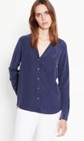 Equipment Long Sleeve Adalyn Silk Shirt