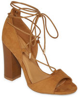 Bamboo Embark Lace-Up Dress Sandals