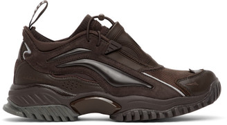 Random Identities Brown Li-Ning Edition Aurora Skywalker Sneakers