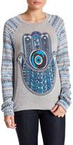 Lauren Moshi Graphic Knit Pullover