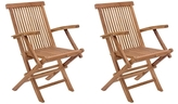 ZUO Regatta Folding Armchairs (Set of 2)