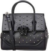 Versace Stud Palazzo Empire Leather Bag