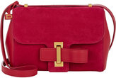 Delvaux Women's Simplissime City PM Shoulder Bag-RED