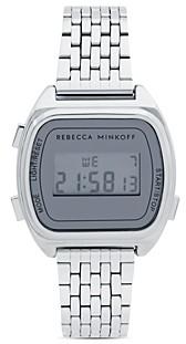 Rebecca Minkoff Digital Link Bracelet Watch, 34mm