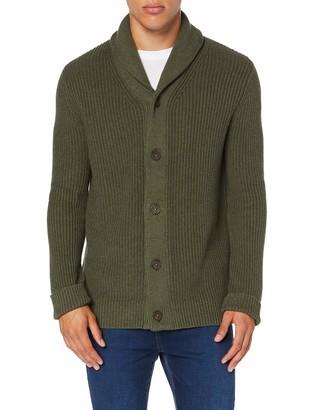 Meraki Amazon Brand Men's Cotton Button Down Cardigan