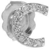 KC Designs Rose Gold Diamond C Single Stud Earring