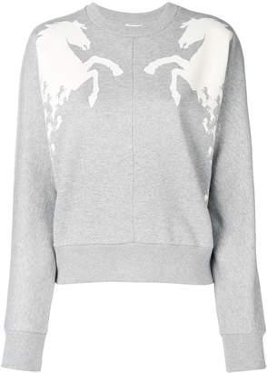 Chloé horse detail sweatshirt