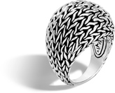 John Hardy Women's Classic Chain 21MM Dome Ring in Sterling Silver