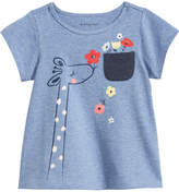 First Impressions Cotton Giraffe T-Shirt, Baby Girls, Created for Macy's