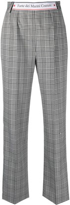 Forte Dei Marmi Couture Plaid-Check Trousers