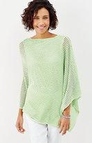 J. Jill Island Breeze Linen & Cotton Poncho