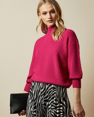Ted Baker IMOGINN Stitch detail chunky knit jumper