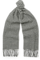 Saint Laurent - Gingham Wool Scarf