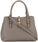 Bally buckle detail tote - women - Leather - One Size