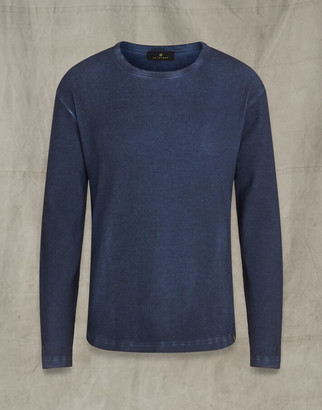 Belstaff LERETT LONG SLEEVED T-SHIRT navy