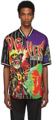 Dolce & Gabbana Multicolor Logo Man Shirt