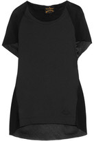 Vivienne Westwood Cotton And Chiffon Top