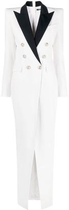 Balmain Long Blazer Dress