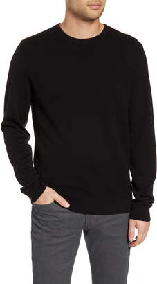 BOSS Bospan Textured Crewneck Sweater