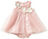 Rare Editions Baby Girls 12-24 Months Flower-Appliqued Tulle A-Line Dress
