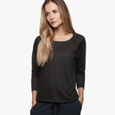 James Perse Glass Wool Jersey Tee