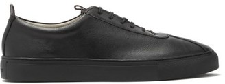 Grenson Sneaker 1 Faux-leather Low-top Trainers - Mens - Black
