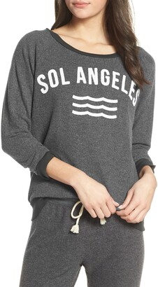 Sol Angeles New Arc Hacci Pullover