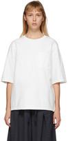 Blue Blue Japan White Firm Jersey T-Shirt