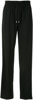 Chloé Logo-Tape Straight-Leg Track Pants