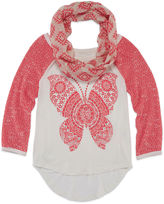 Arizona 3/4 Sleeve top with Scarf