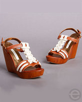 Cynthia Vincent Isla Wedge Sandals