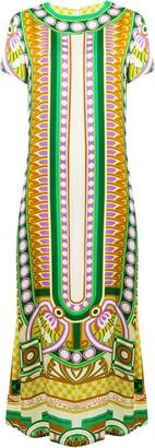 La DoubleJ short-sleeve maxi dress