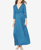 Rachel Zoe Maternity V-Neck Maxi Dress