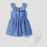 Cat & Jack Toddler Girls' A Line Popsicle Print Dress Cat & Jack - Chambray