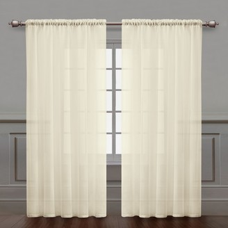 VCNY Home VCNY 1-pack Infinity Sheer Window Curtain