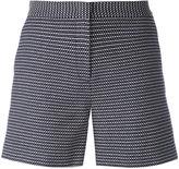 Armani Jeans dot dash print shorts - women - Cotton - 40