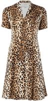 Carolina Herrera leopard print T-shirt dress