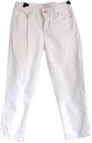 Tory Burch White Cotton - elasthane Jeans