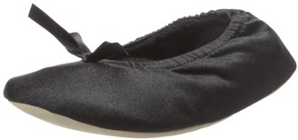 Jacques Moret Girls' Little (4-7) Soft Satin Ballet Slipper Shoe